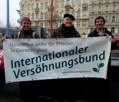 Demonstration für Flüchtlinge 2013