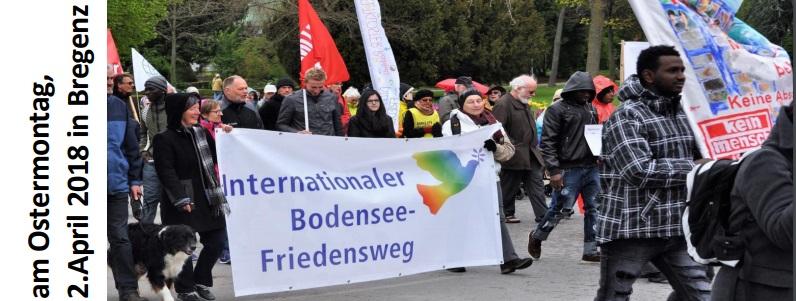 Einladung zum Bodensee Friedensweg