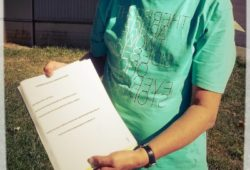 Übergabe der Unterschriften für eine Anerkennung Palästinas