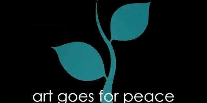 Art goes for peace Titel