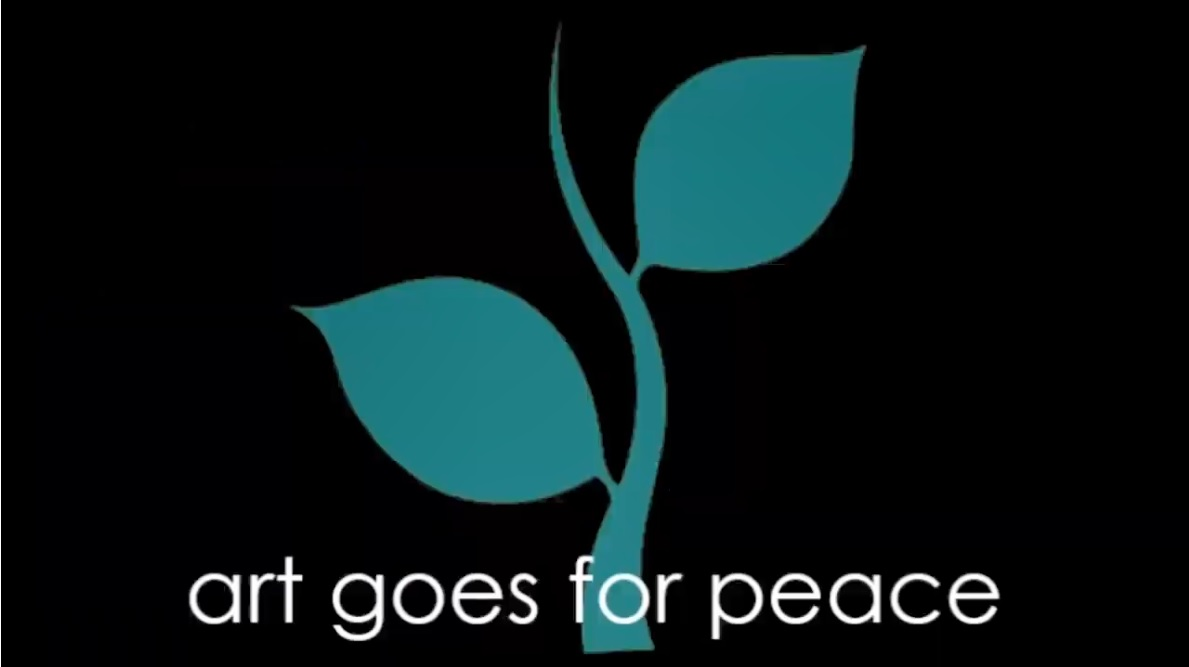 Art goes for peace Titel