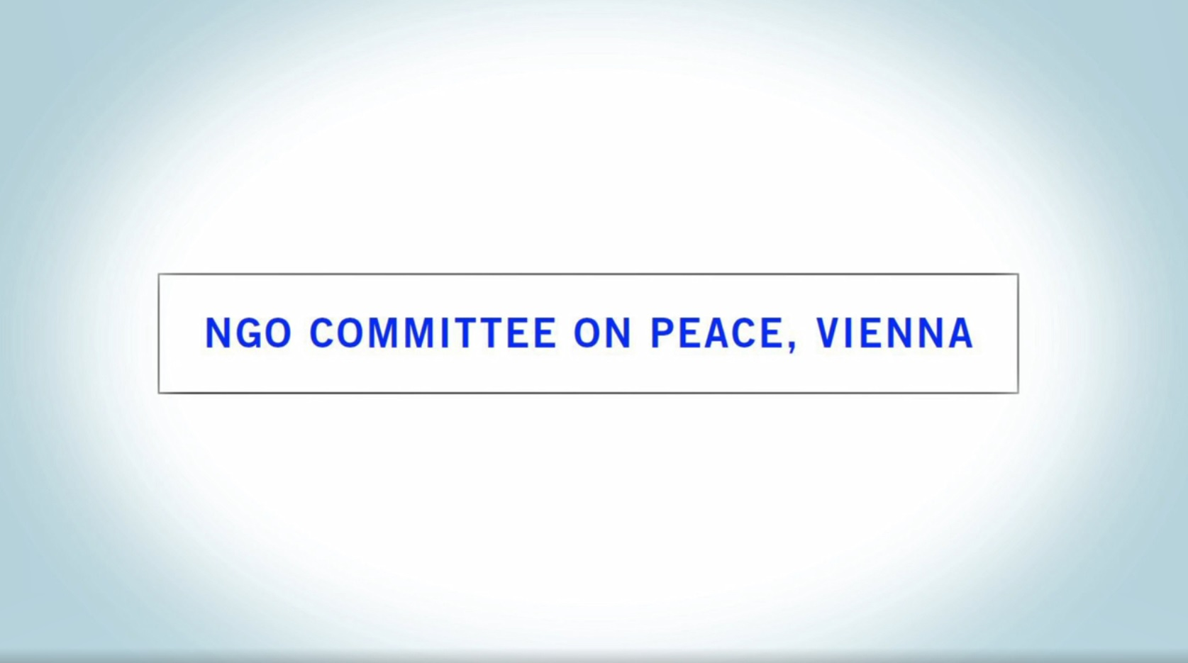 NGO Committee on Peace Vienna