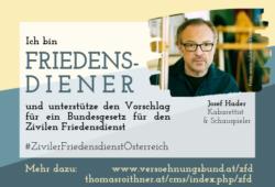 Ziviler_Friedensdienst_Josef_Hader