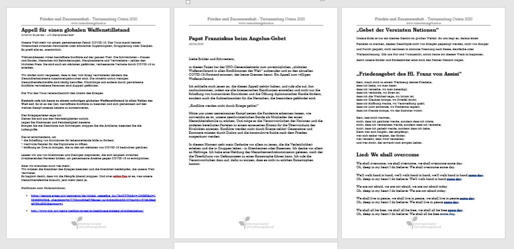 Texte in pdf