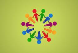Icon Menschen im Kreis