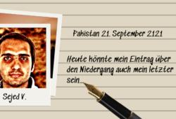 Bild und Tagebucheintrag von Sejed V.